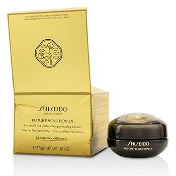 Shiseido  Future Solution LX Eye & Lip Contour Regenerating Cream (Box Slightly Damaged)  17ml/0.61oz