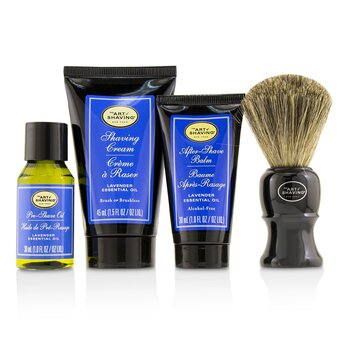 The Art Of Shaving Kit Los 4 Elementos del Afeitado Perfecto Tamaño Mediano - Lavender  4pcs