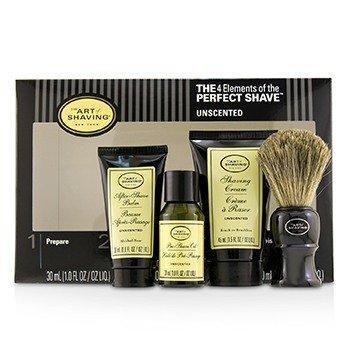 The Art Of Shaving Kit Los 4 Elementos del Afeitado Perfecto Tamaño Mediano - Unscented  4pcs