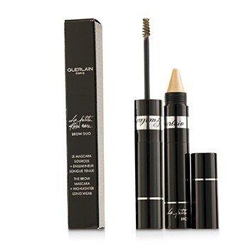 Guerlain La Petite Robe Noire Brow Duo (Brow Mascara 4ml/0.13oz + Highlighter 1.5g/0.05oz) - # 10 Light G0424