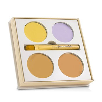 Jane Iredale Corrective Colors Kit (4x Concealer + 1x Applicator)  9.9g/0.35oz