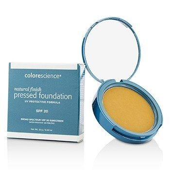 Colorescience Natural Finish Pressed Foundation Broad Spectrum SPF 20 - # Tan Natural (Exp. Date 07/2018)  12g/0.42oz