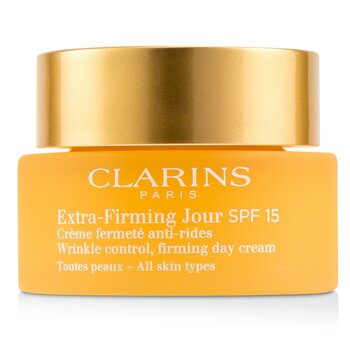 Clarins Extra-Firming Jour Wrinkle Control, Firming Day Cream SPF 15 - All Skin Types  50ml/1.7oz