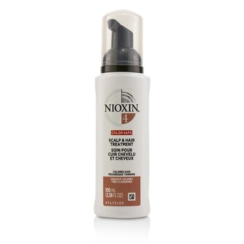 Nioxin Diameter System 4 Scalp & Hair Treatment (Colored Hair, Progressed Thinning, Color Safe)  100ml/3.38oz