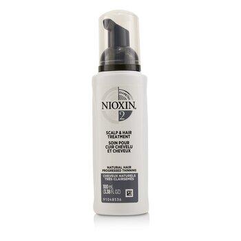 Nioxin Diameter System 2 Scalp & Hair Treatment (Natural Hair, Progressed Thinning)  100ml/3.38oz