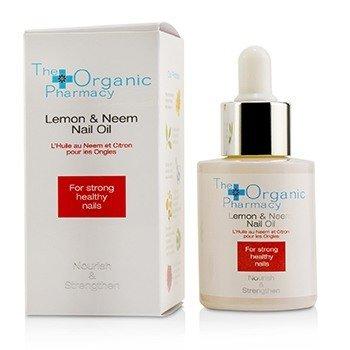 The Organic Pharmacy Lemon & Neem Масло для Ногтей - Питает и Укрепляет  30ml/1oz