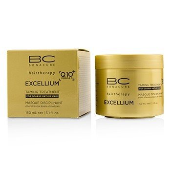Schwarzkopf BC Excellium Q10+ Omega 3 Taming Treatment (For Coarse Mature Hair)  150ml/5.1oz