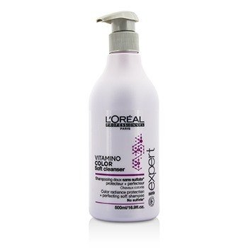 L'Oreal Professionnel Expert Serie - Vitamino Color Soft Cleanser Color Radiance Protection + Perfecting Soft Shampoo  500ml/16.9oz