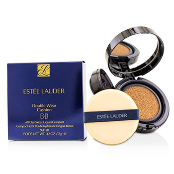Estee Lauder Double Wear Cushion BB All Day Wear Liquid Compact SPF 50 - # 3C2 Pebble  12g/0.42oz