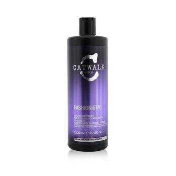 Tigi Catwalk Fashionista Violet Conditioner - For Blondes and Highlights (Not Pump)  750ml/25.36oz
