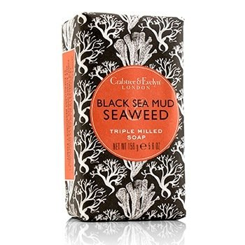Crabtree & Evelyn Black Sea Mud & Seaweed Triple Milled Soap  158g/5.6oz