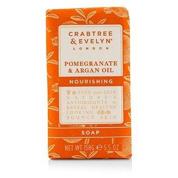 Crabtree & Evelyn Pomegranate & Argan Oil Jabón Hidratante  158g/5.5oz