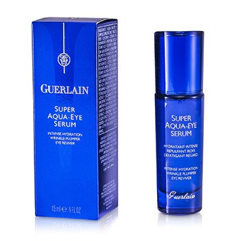 Guerlain Super Aqua Eye Serum - Intense Hydration Wrinkle Plumper Eye Reviver  15ml/0.5oz