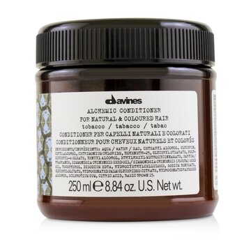 Davines Alchemic Conditioner - # Tobacco (For Natural & Coloured Hair)  250ml/8.84oz