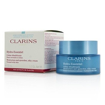 Clarins Hydra-Essentiel Moisturizes & Quenches Silky Cream - Normal to Dry Skin  50ml/1.7oz