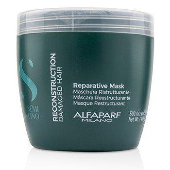 AlfaParf Semi Di Lino Reconstruction Reparative Mask (Damaged Hair)  500ml/17.2oz