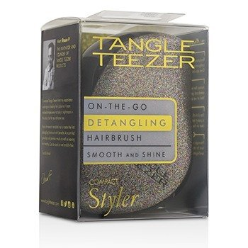 Tangle Teezer Compact Styler On-The-Go Detangling Hair Brush - # Glitter Gem  1pc