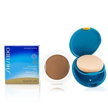 Shiseido UV Protective Compact Foundation SPF 36 (Case + Refill) - # SP60 Medium Beige  12g/0.42oz