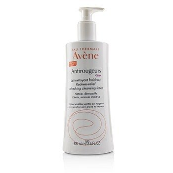Avene Antirougeurs Clean Redness-Relief Refreshing Cleansing Lotion - For Sensitive Skin Prone to Redness  400ml/13.5oz