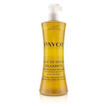 Payot Huile De Douche Relaxante Relaxing Cleansing Body Oil With Jasmine & White Tea Extracts  400ml/13.5oz