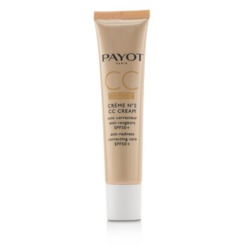 Payot Creme N°2 CC Cream - Anti-Redness Correcting Care SPF50+  40ml/1.3oz