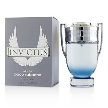 Paco Rabanne Invictus Aqua Eau De Toilette Spray  100ml/3.4oz