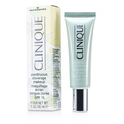 Clinique Continuous Coverage Spf15 - No. 02 Natural Honey Glow  30ml/1oz
