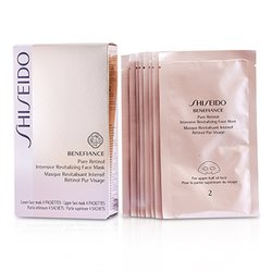 Shiseido Benefiance Pure Retinol Intensive Revitalizing Face Mask  4pairs
