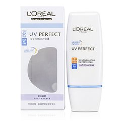 L'Oreal Dermo-Expertise UV Perfect Long Lasting UVA/UVB Protector SPF50 PA+++ - #Anti-Dullness  30ml/1oz