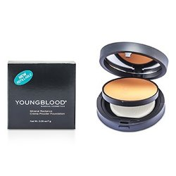Youngblood Mineral Radiance Creme Powder Foundation - # Rose Beige  7g/0.25oz