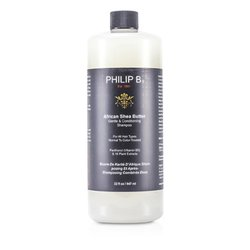 Philip B African Shea Butter Gentle & Conditioning Shampoo (For All Hair Types, Normal to Color-Treated)  947ml/32oz
