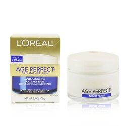 L'Oreal ครีมกลางคืน Skin Expertise Age Perfect ( สำหรับผิวสูงวัย )  70g/2.5oz