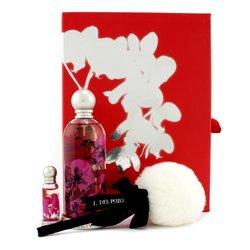 Jesus Del Pozo Halloween Kiss Coffret: Eau De Toilette Spray 100ml/3.4oz + Glitter Body Powder 5g/0.17oz+ Miniature 4ml/0.13oz  3pcs