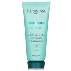 Kerastase Resistance Ciment Anti-Usure Strengthening Anti-Breakage Cream - Rinse Out (For Damaged Lengths & Ends)  200ml/6.8oz