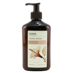 Ahava Mineral Botanic Velvet Body Lotion - Hibiscus & Fig  400ml/13.5oz