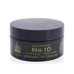 Truefitt & Hill Authentic No.10 Finest Shaving Cream  200ml/6.7oz