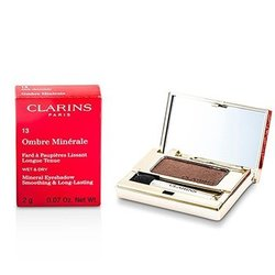 Clarins Ombre Minerale Smoothing & Long Lasting Mineral Eyeshadow - # 13 Dark Chocolate  2g/0.07oz