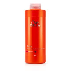 Wella Enrich Moisturizing Shampoo For Dry & Damaged Hair (Fine/Normal)  1000ml/33.8oz