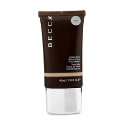 Becca Matte Skin Shine Proof Foundation - # Olive  40ml/1.35oz
