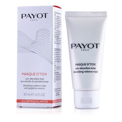 Payot Les Demaquillantes Masque D'Tox Detoxifying Radiance Mask  50ml/1.6oz