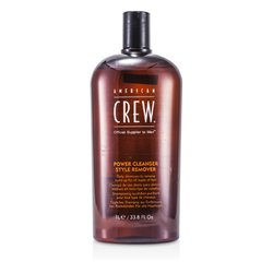 American Crew Men Power Cleanser Style Remover Daily Shampoo (For All Types of Hair)  1000ml/33.8oz
