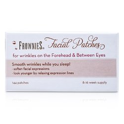 Frownies Facial Patches (For pannen og mellom øyne)  144 Patches