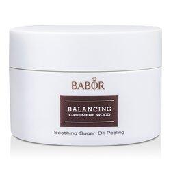 Babor Balancing Cashmere Wood - Aceite Azúcar Peeling Calmante  200ml/6.7oz