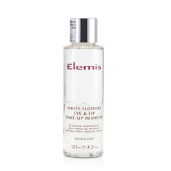 Elemis White Flowers Eye & Lip Make-Up Remover  125ml/4.2oz