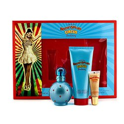 Britney Spears Circus Fantasy Coffret: Eau De Parfum Spray 50ml/1.7oz + Body Souffle 100ml/3.3oz + Lip Gloss 8ml/0.27oz  3pcs