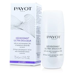 Payot Le Corps Deodorant Ultra Douceur - 24-Hour Anti-Perspirant Roll-On (Alcohol-Free)  75ml/2.5oz