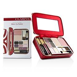 Clarins Make Up Vanity Palette: 1xPowder Compact + 1xBlush + 6xEye Shadows + 1xMini Mascara + 1xMini Lip Glo