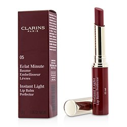 Clarins Eclat Minute Instant Light Lip Balm Perfector - # 05 Red  1.8g/0.06oz