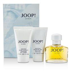 Joop Le Bain szett: Eau De Parfüm spray 40ml/1.35oz + testápoló lotion 50ml/1.7oz + tusolózselé 50ml/1.7oz  3pcs