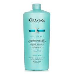 Kerastase Resistance Bain Force Architecte Ενδυναμωτικό Σαμπουάν (Για Ατίθασα, Φθαρμένα Μαλλιά, Ψαλίδα)  1000ml/34oz